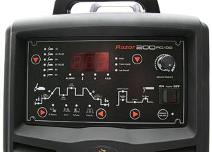 Jasic-Razor TIG AC/DC 200 - inverteres AWI hegesztőgép