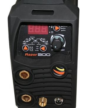 Jasic-Razor TIG DC 200 - inverteres, bevont elektródás hegesztőgépek